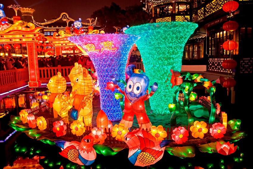 Shanghái, una de las ciudades para vivir el Año Nuevo Chino