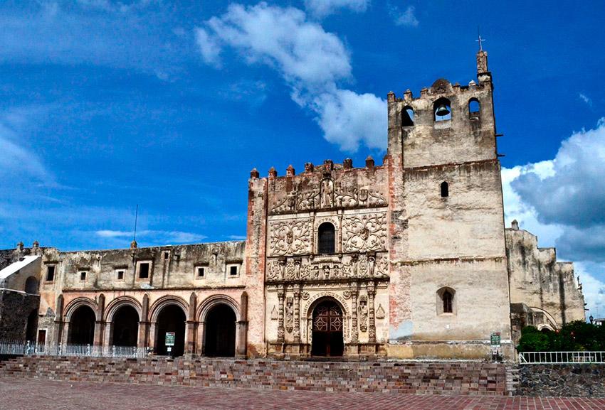 Ex Convento Agustino de San Pablo, uno de los ex conventos más bonitos de México