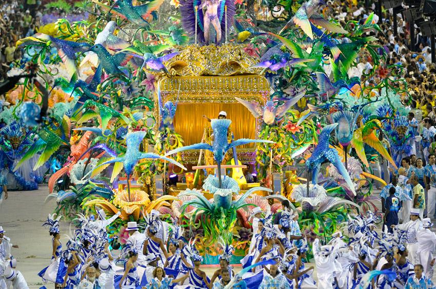 Carnaval de Río de Janeiro, uno de los mejores carnavales del mundo