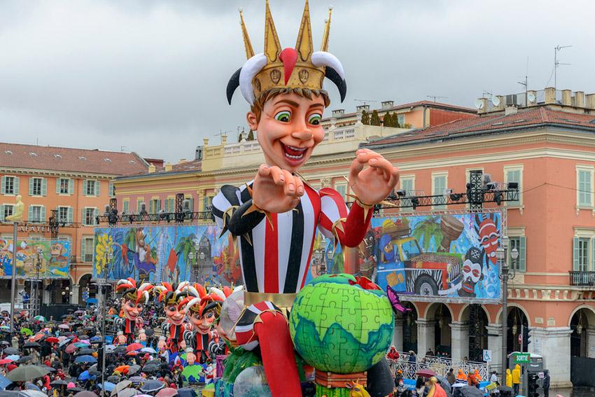 Carnaval de Niza, uno de los mejores carnavales del mundo