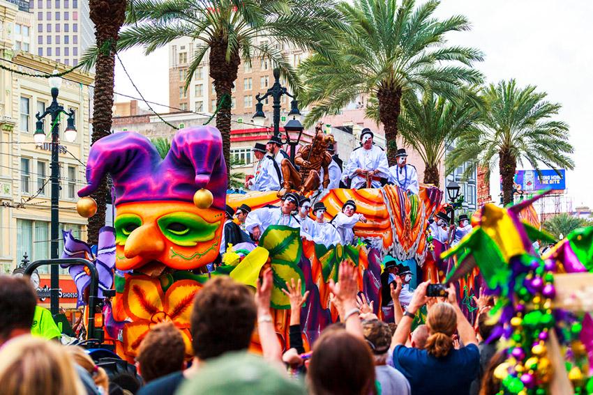 Carnaval de Nueva Orleans, uno de los mejores carnavales del mundo