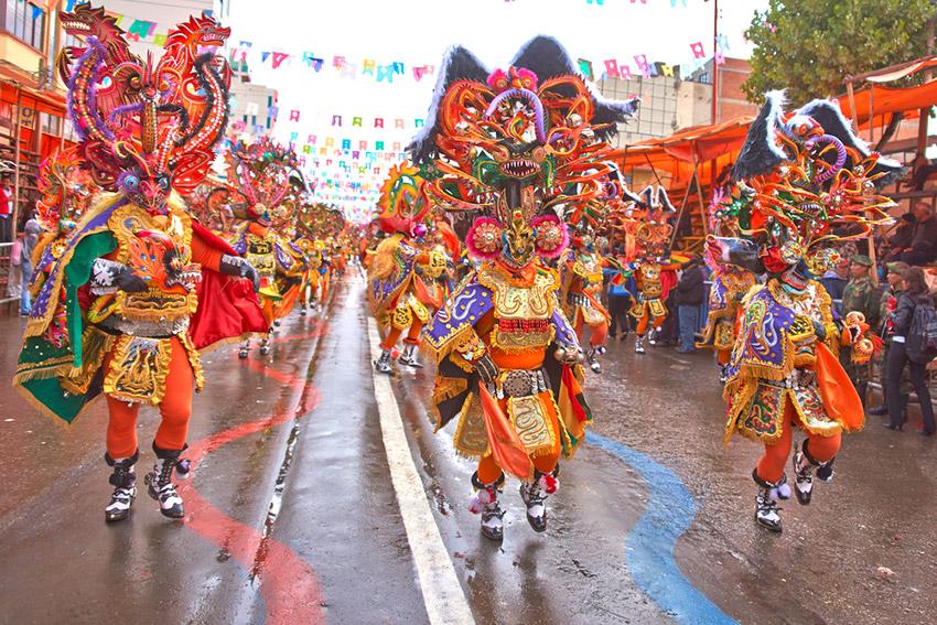 Carnaval de Oruro, uno de los mejores carnavales del mundo