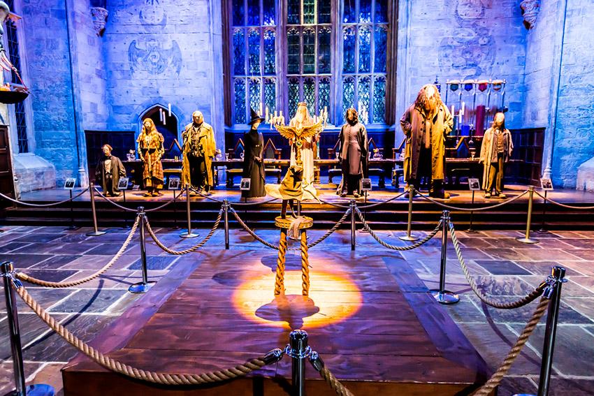 Tour de la Warner Bros, uno de los lugares de Harry Potter en Reino Unido