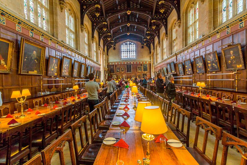 Christ Church, uno de los lugares ede Harry Potter en Reino Unido