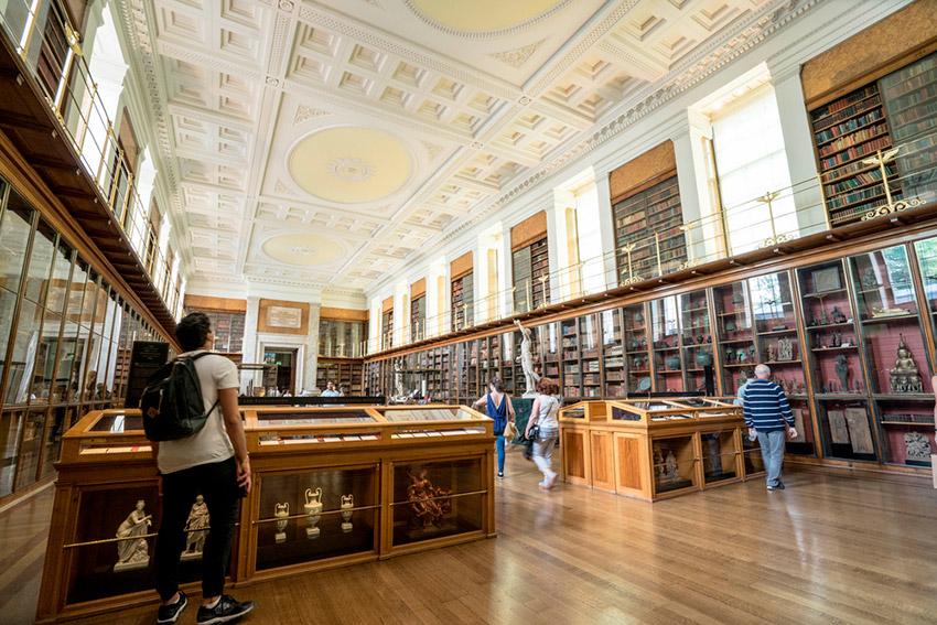 British Library, uno de los lugares ede Harry Potter en Reino Unido
