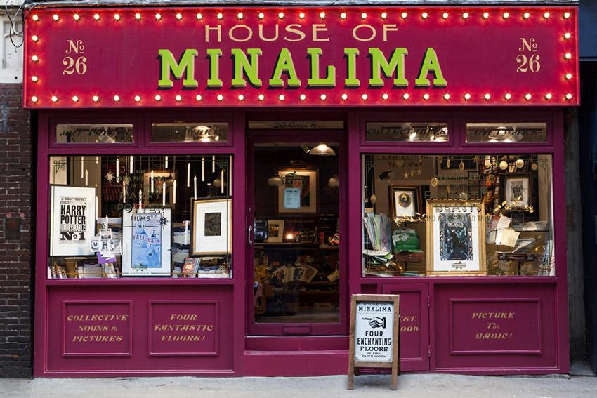 House of Minalima, uno de los lugares ede Harry Potter en Reino Unido