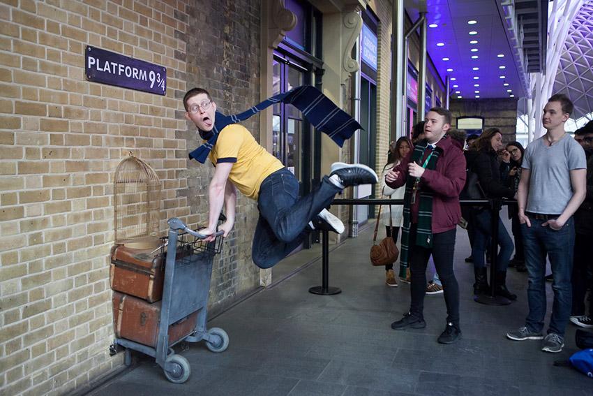 King's Cross, uno de los lugares ede Harry Potter en Reino Unido