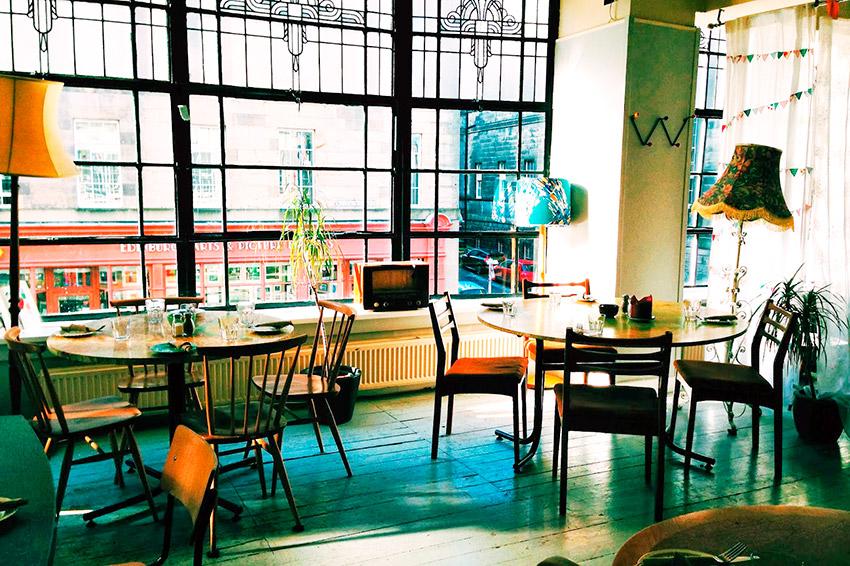 Cafetería Spoon, uno de los lugares ede Harry Potter en Reino Unido