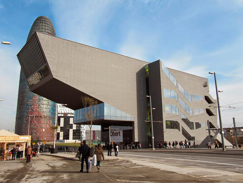 Museu del Disseny, uno de los lugares secretos para hípsters en Barcelona