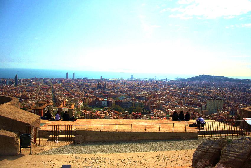 Bunkers del Carmel, uno de los lugares secretos para hípsters en Barcelona
