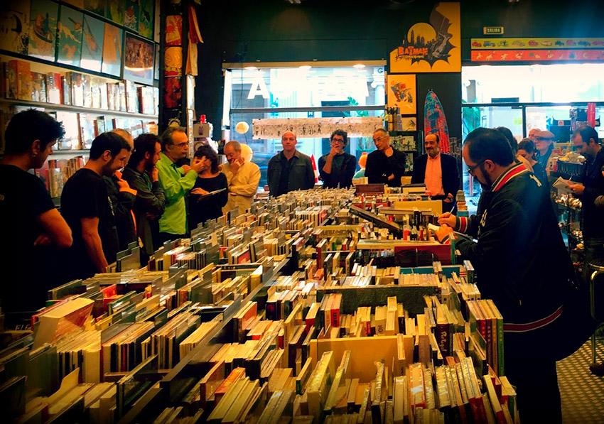 Continuará Comics, uno de los lugares secretos para hípsters en Barcelona