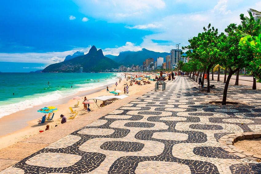 Barrio de Ipanema, uno de los planes gratis en Río de Janeiro
