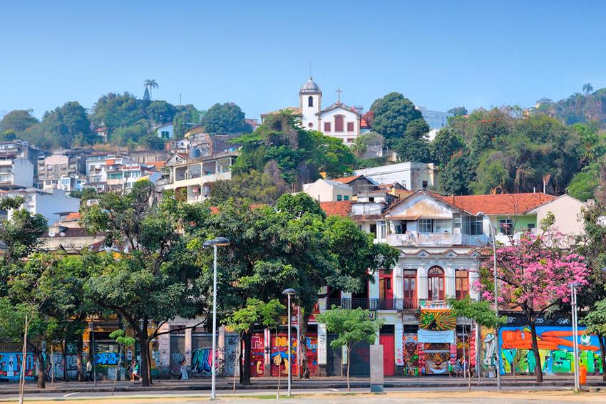 Barrio de Santa Teresa, uno de los planes gratis en Río de Janeiro