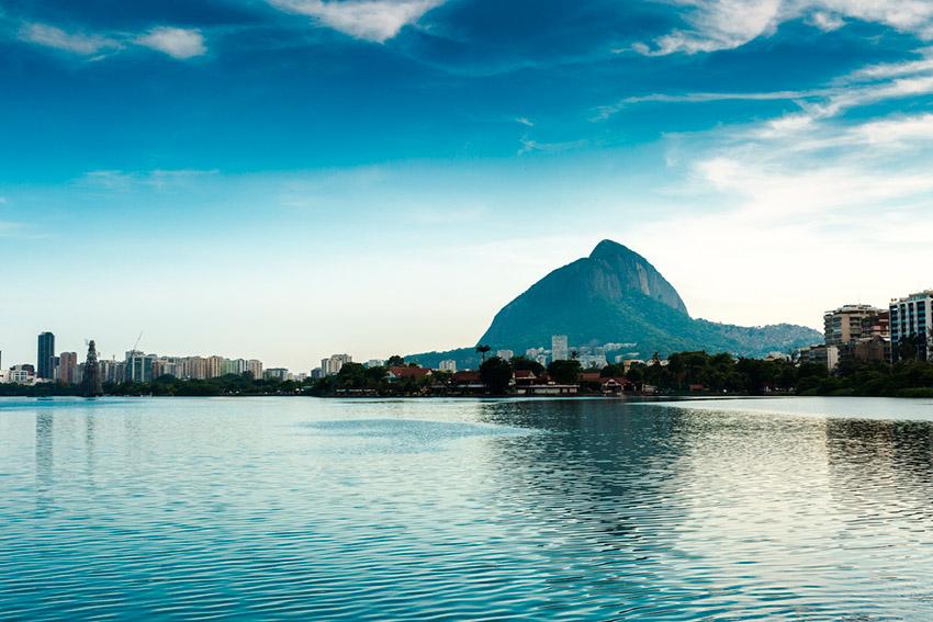 Laguna de Rodrigo de Freitas, uno de los planes gratis en Río de Janeiro