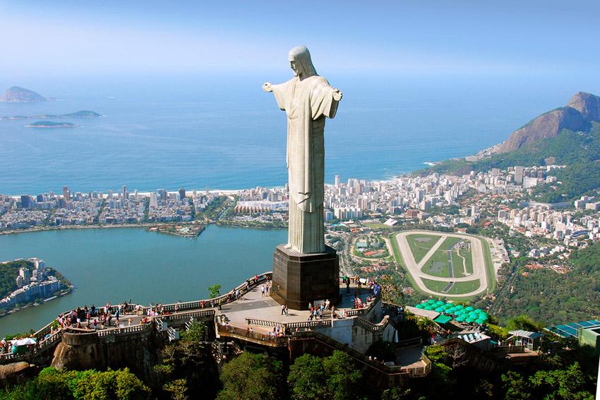 Crisdto Redentor, uno de los planes gratis en Río de Janeiro