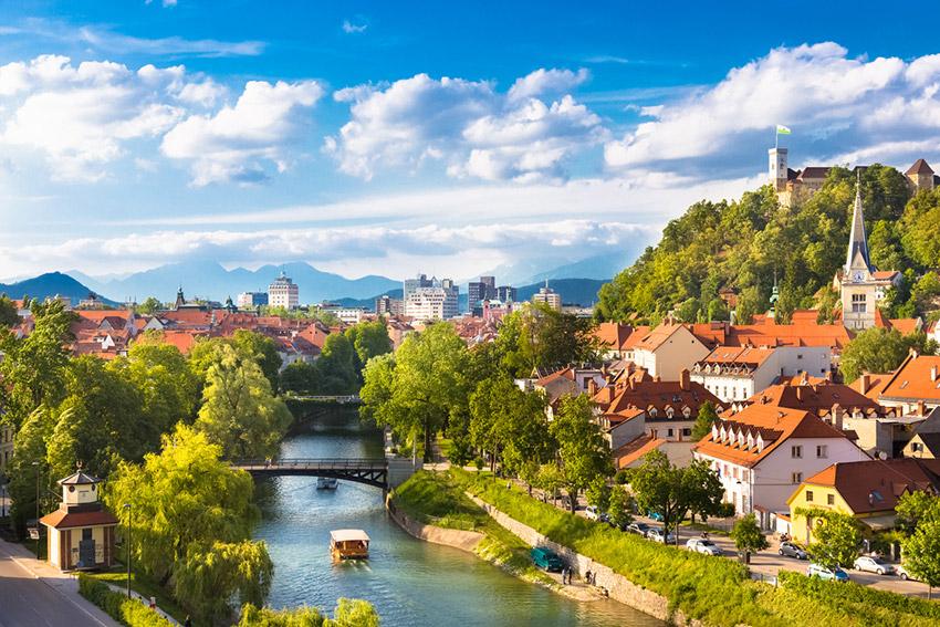 Liubliana, uno de los destinos que debes conocer en bicicleta
