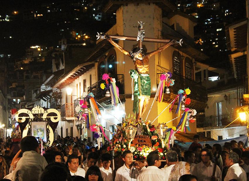 Taxco, uno de los destinos para vivir la Semana Santa en México