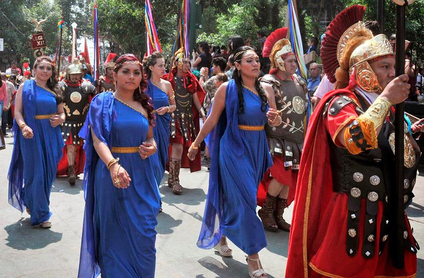 Iztapalapa, uno de los destinos para vivir la Semana Santa en México