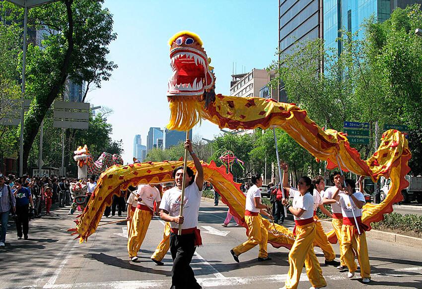 Año Nuevo Chino en Ciudad de México