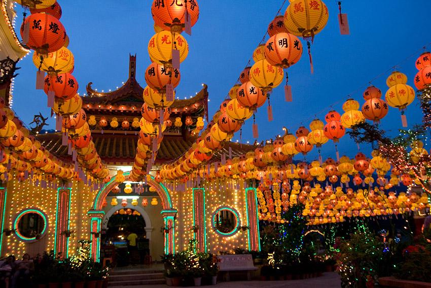 Templ, uno de los festejos de cómo se celebra el Año Nuevo Chino
