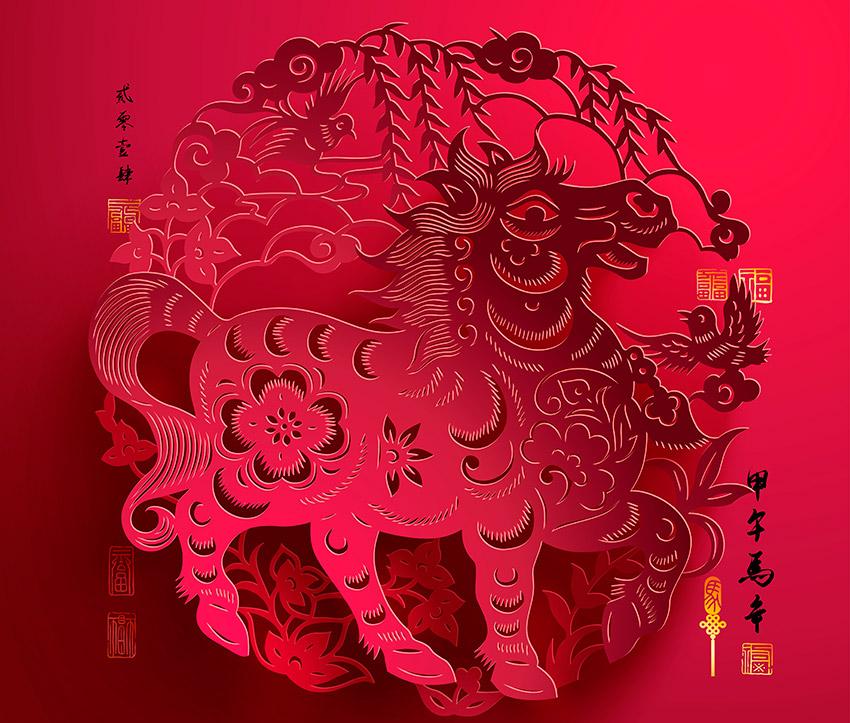 Recortes de papel, uno de los preparativos de cómo se celebra el Año Nuevo Chino