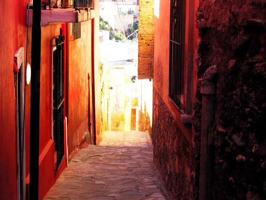 Callejón del Diablo, uno de los callejones legendarios de México