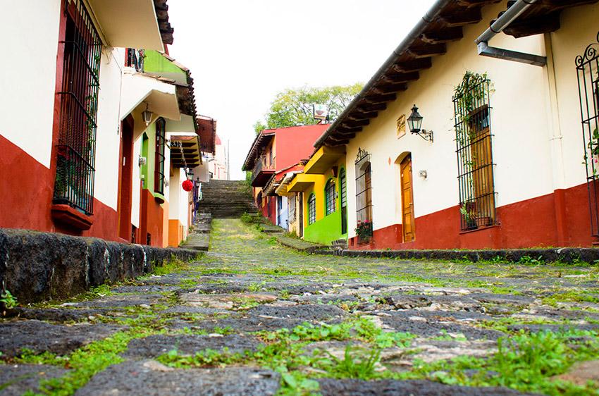 Callejón Jesús te Ampare, uno de los callejones legendarios de México