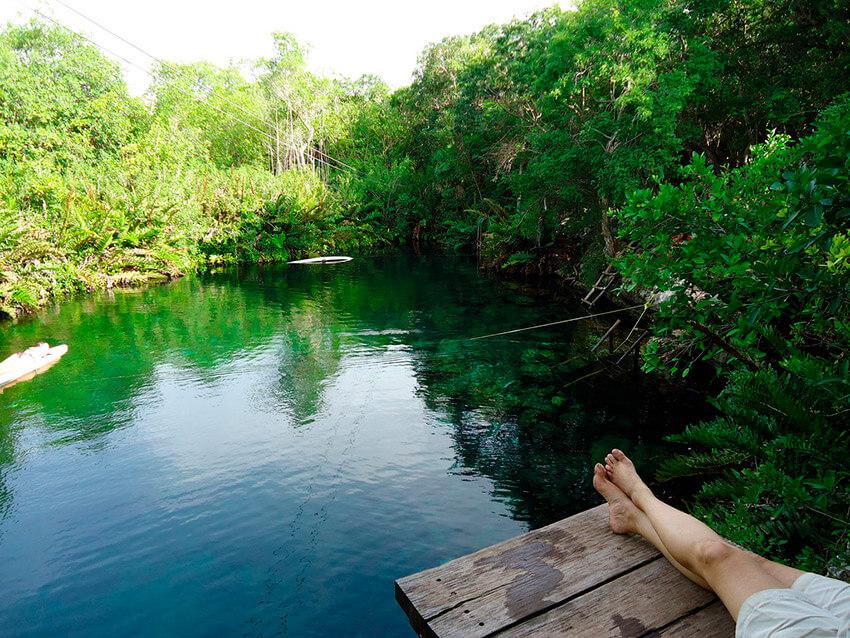 Cenotes Ocultos en la Riviera Maya: Xunaan-Ha