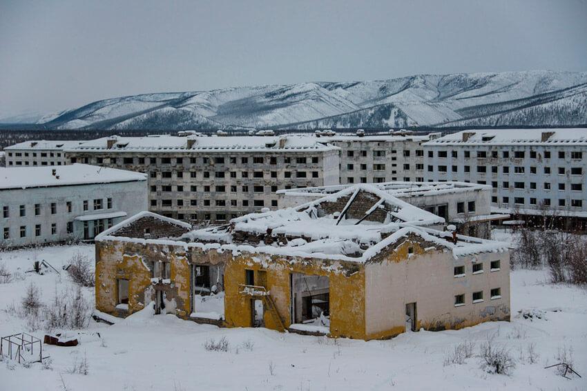 Kadykchan, una de las ciudades fantasma de la Unión Soviética