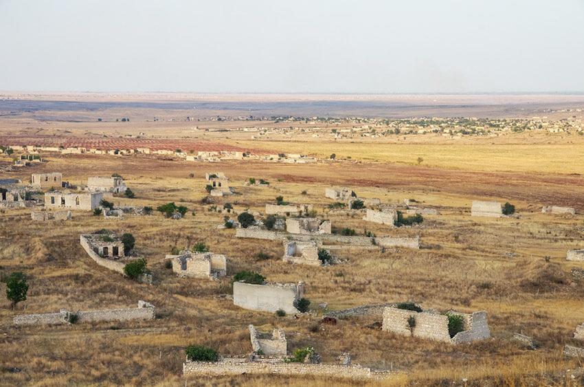 Agdam, una de las ciudades fantasma de la Unión Soviética