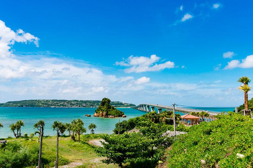 Isla de Okinawa, uno de los destinos alternativos a los más turísticos