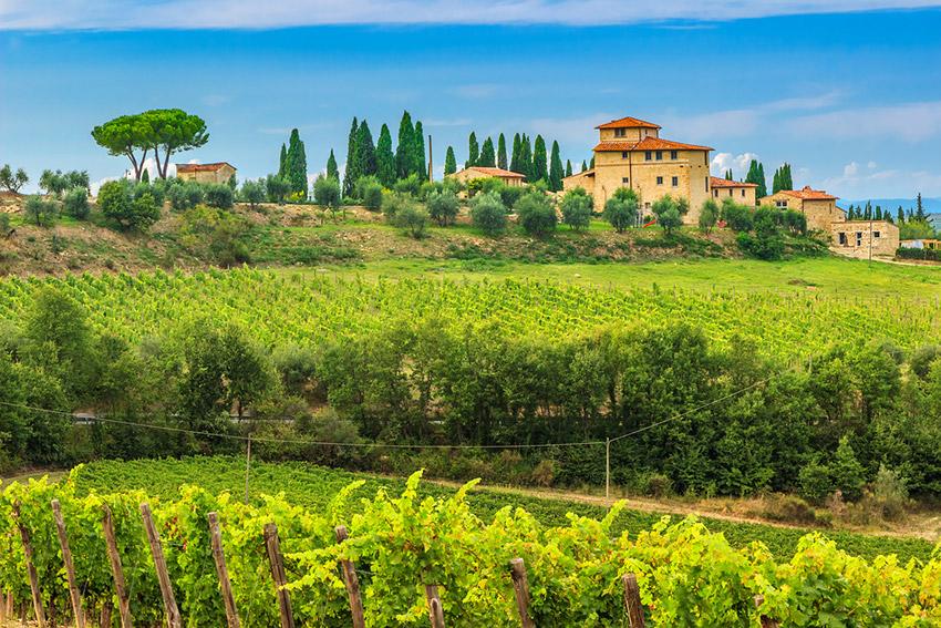 La Toscana, uno de los lugares dónde viajar en primavera