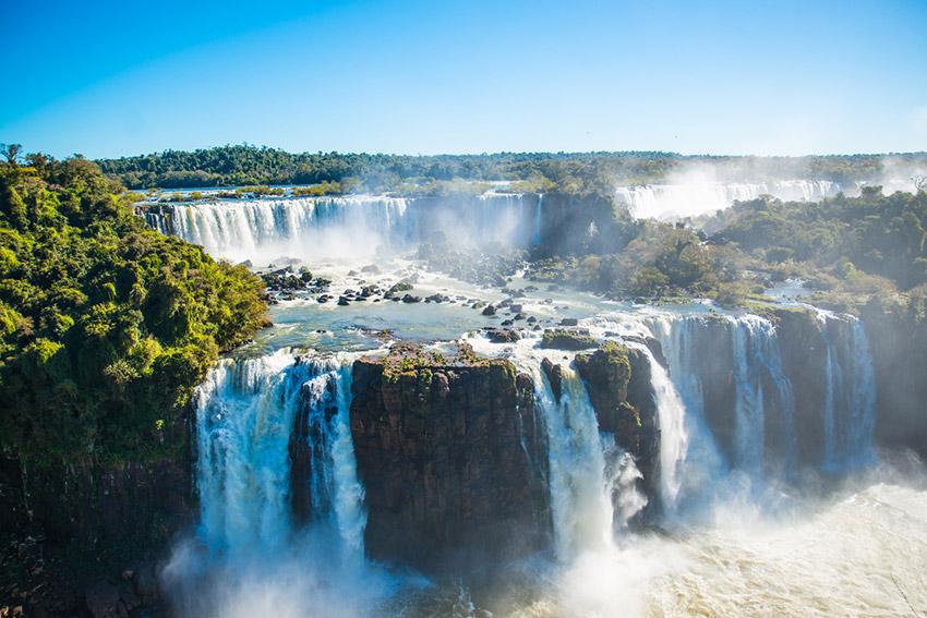 Cataratas de Iguazú, una de las maravillas naturales del mundo