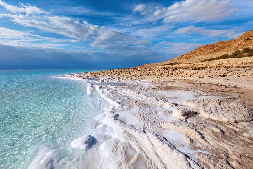 Mar Muerto, una de las maravillas naturales del mundo