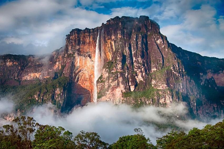 Salto del Ángel, una de las maravillas naturales del mundo
