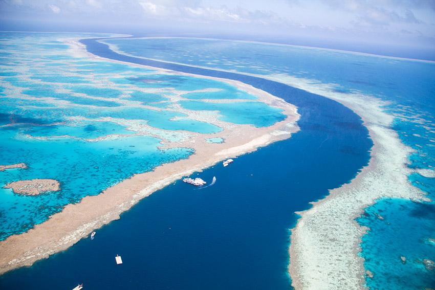 Gran Barrera de Coral, una de las maravillas naturales del mundo