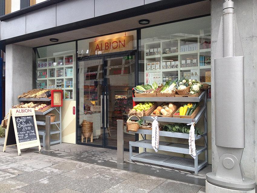 Albion, uno de los lugares donde comer barato en Londres
