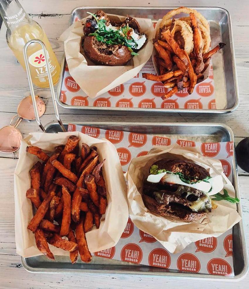 Yeah Burger, un lugar donde comer barato en Londres