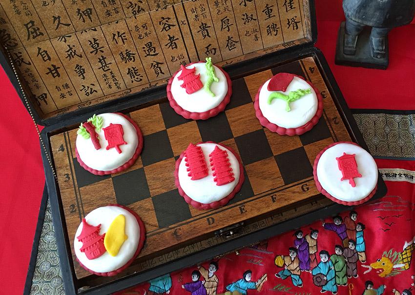 Pastel, uno de los dulces para el Año Nuevo Chino