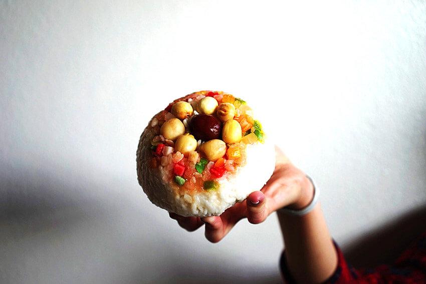 Pudin de Arroz, uno de los dulces para el Año Nuevo Chino