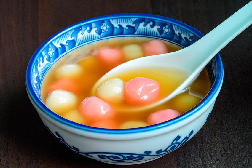 Tangyuan, uno de los dulces para el Año Nuevo Chino