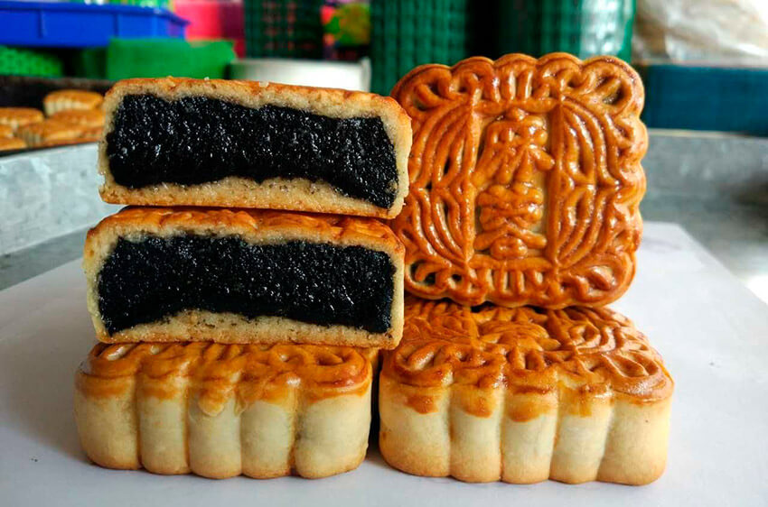 Pastel esponjoso, uno de los dulces para el Año Nuevo Chino