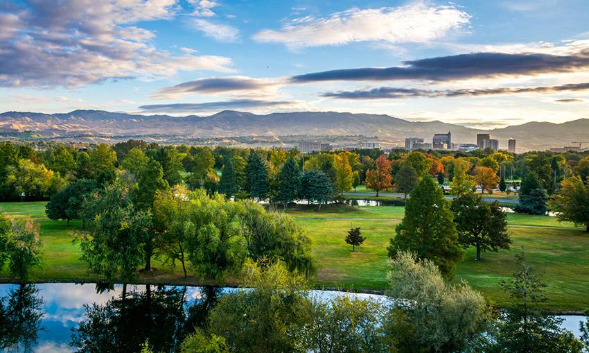 Boise, uno de los destinos atípicos de Estados Unidos
