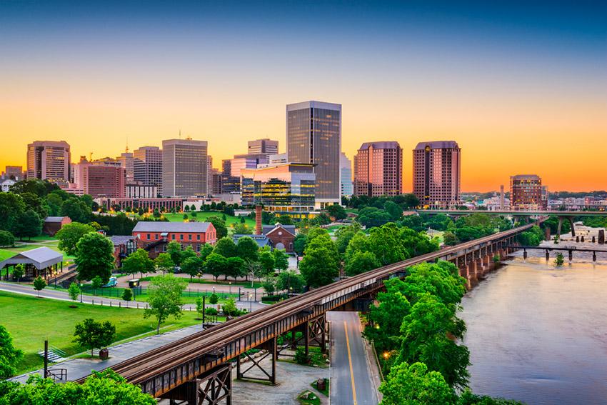 Richmond, uno de los destinos atípicos de Estados Unidos