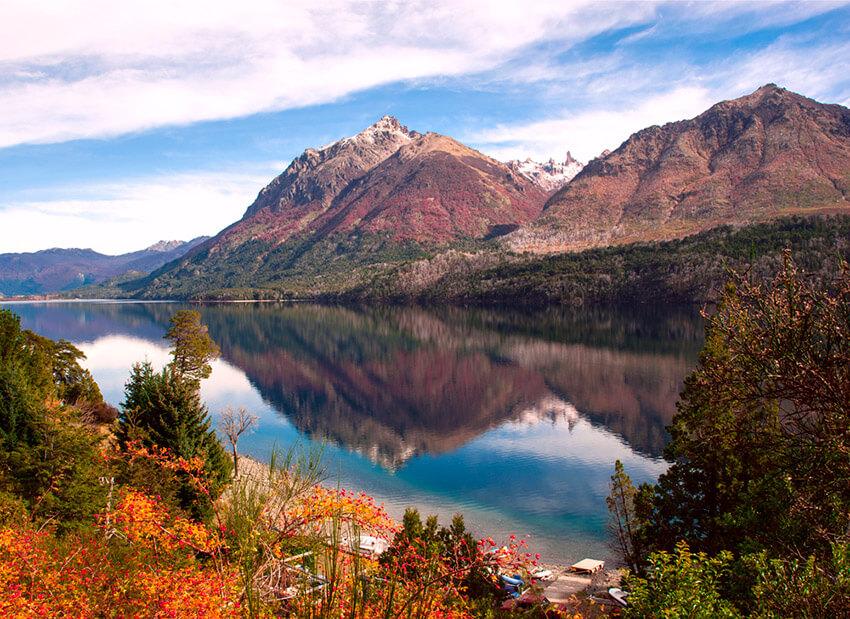Lago Gutiérrez, uno de los lugares cerca de Bariloche