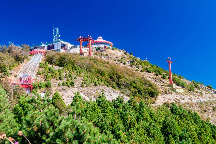 Cerro Otto, uno de los lugares cerca de Bariloche