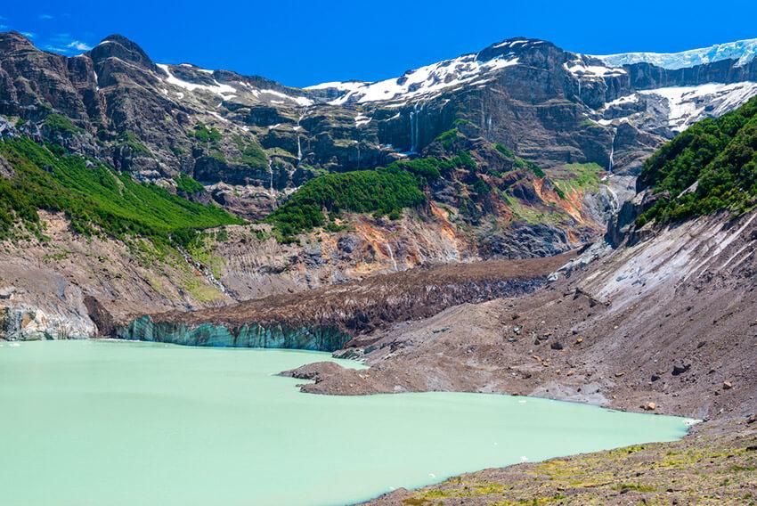 Cerro Tronador, uno de los lugares cerca de Bariloche