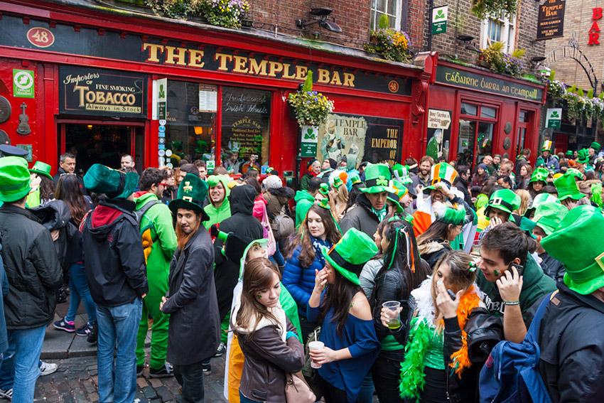 Dublín, uno de los lugares donde celebrar San Patricio