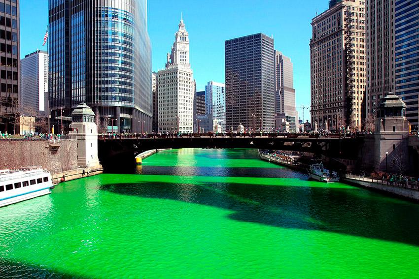 Chicago, uno de los lugares donde celebrar San Patricio