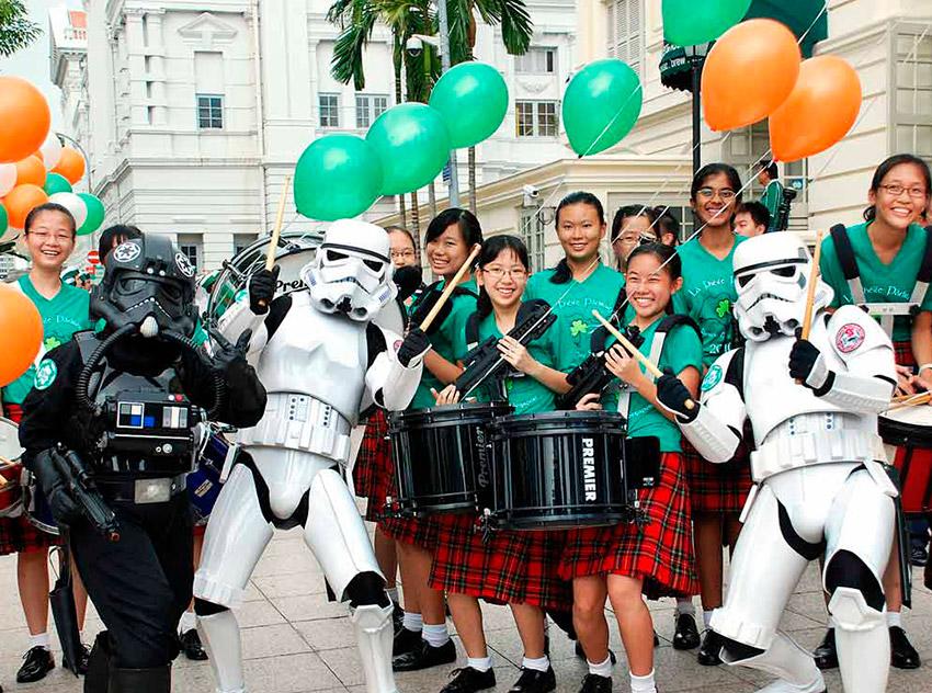 Singapur, uno de los lugares donde celebrar San Patricio width=